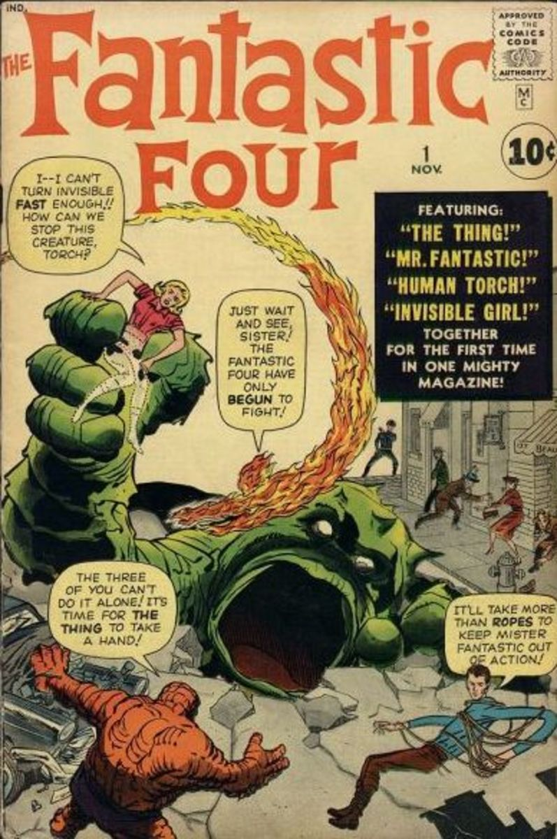 Fantastic Four #1 Marvel Comics #1961