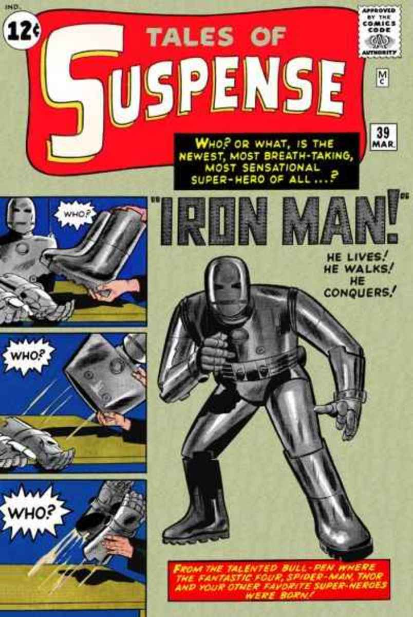 Marvel Comics Tales of Suspense #39 First appearance of Iron Man
