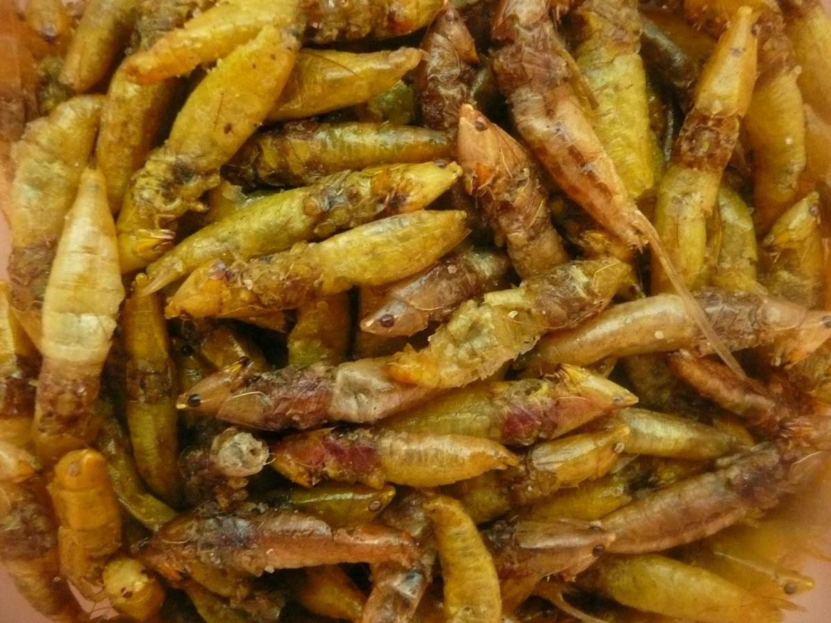 Fried Ensenene snack- ready to eat