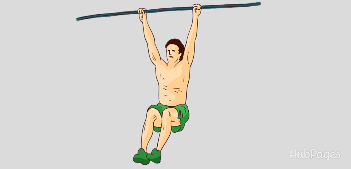 Add to your height with this hanging exercise