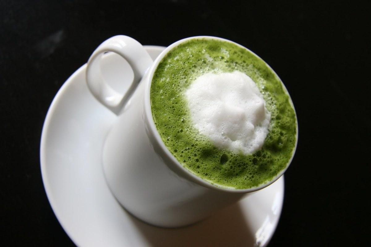 Matcha latte.
