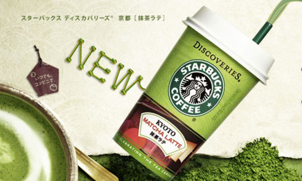 Matcha's popularity can be attributed to Starbucks selling matcha lattes. Thus making it wildly well known and coveted.