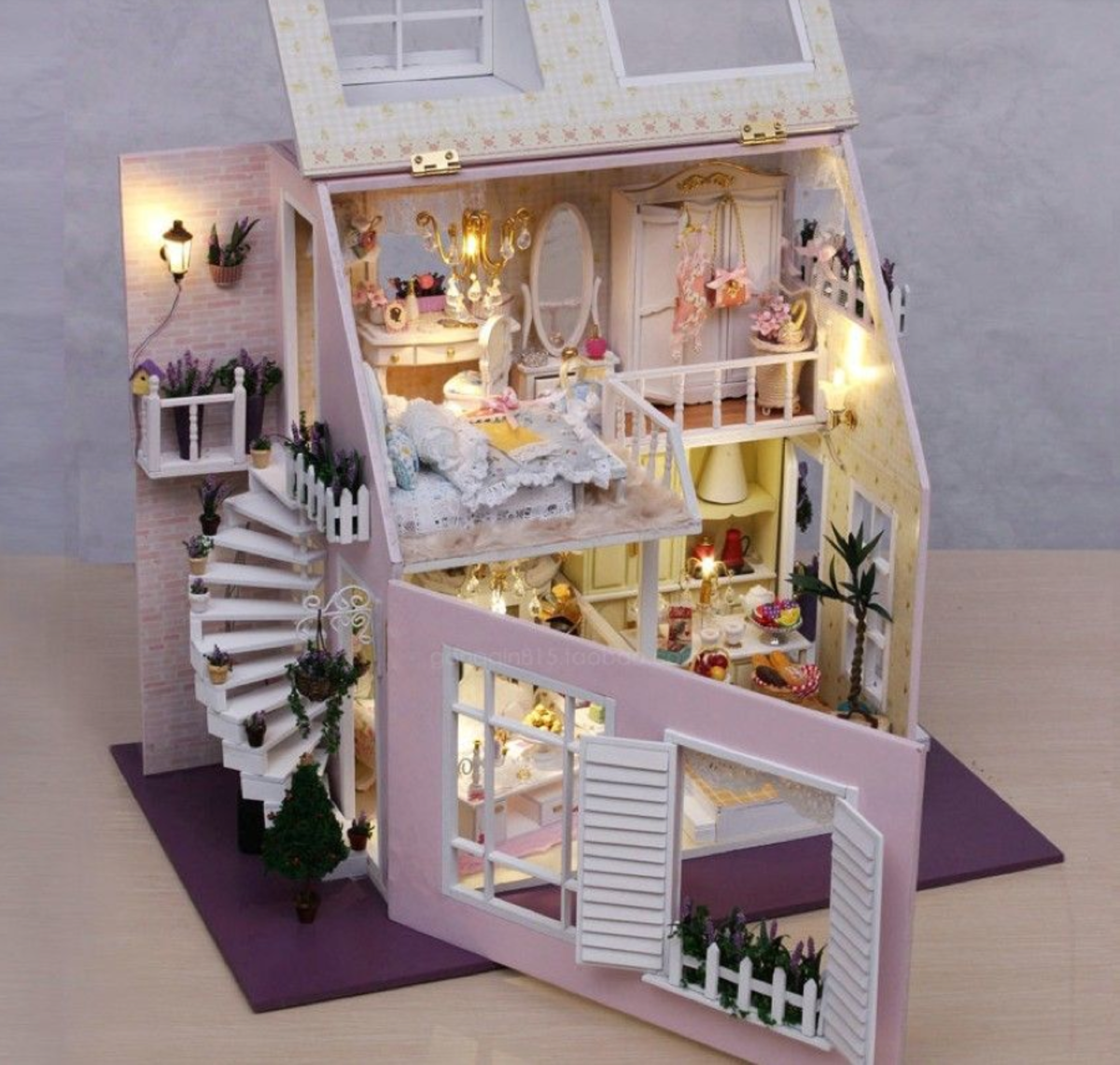 dollhouse, miniatures, diy