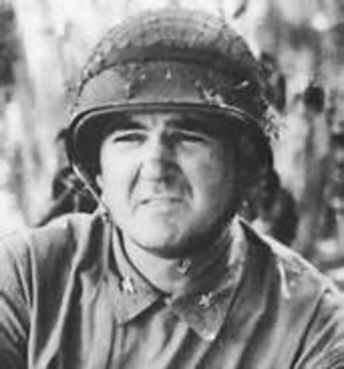 Col. Frank B. Goettge, shortly after his arrival on Guadalcanal.