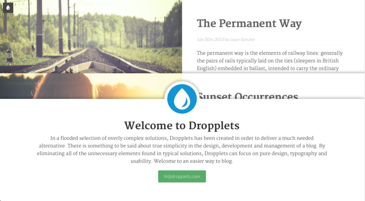 Dropplets Demo