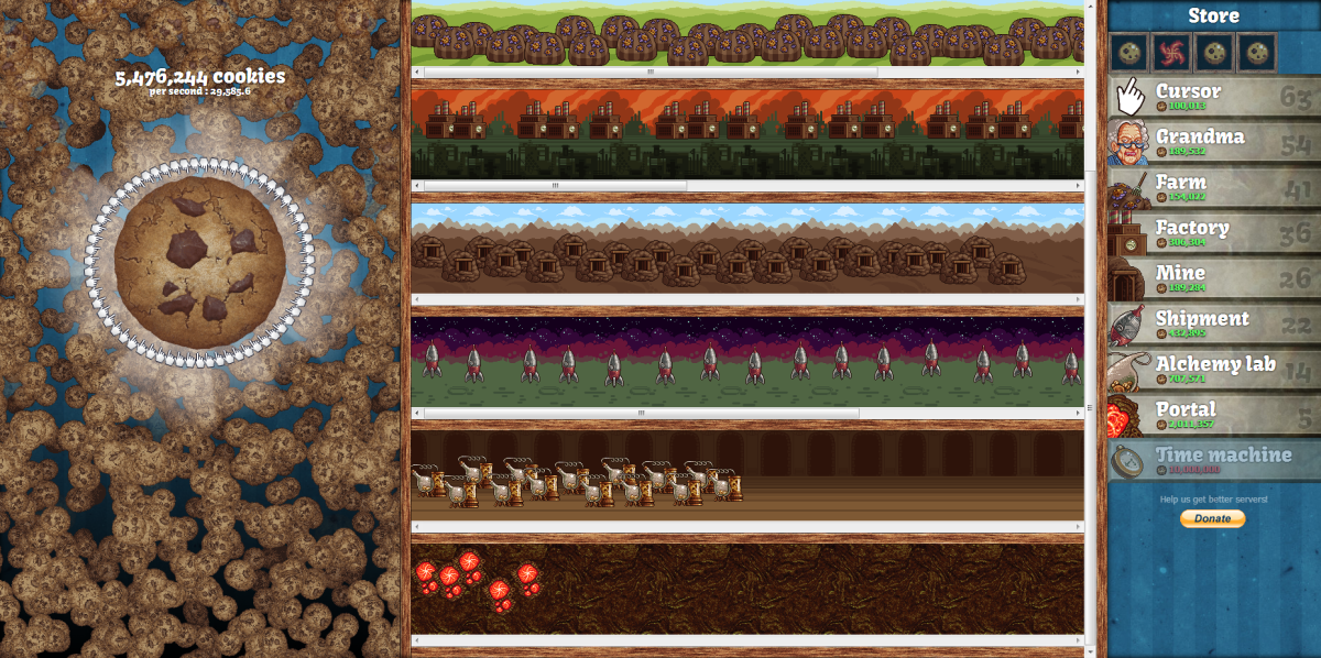 10 Games Like Cookie Clicker