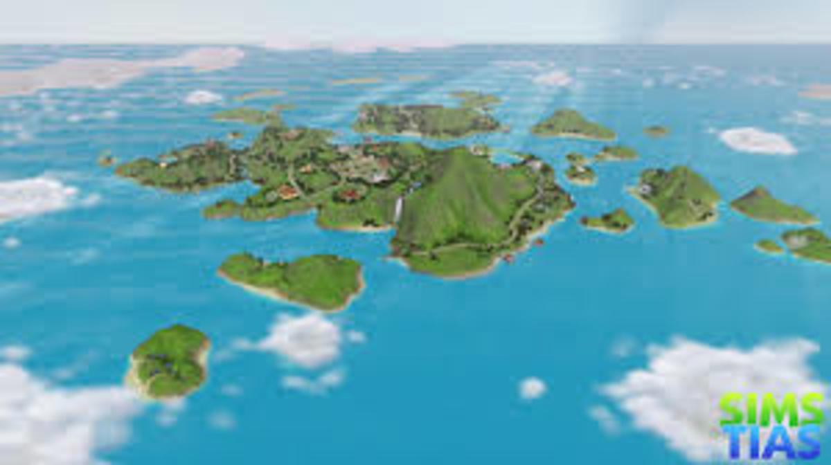 How to access the secret Islands in The Sims 3
