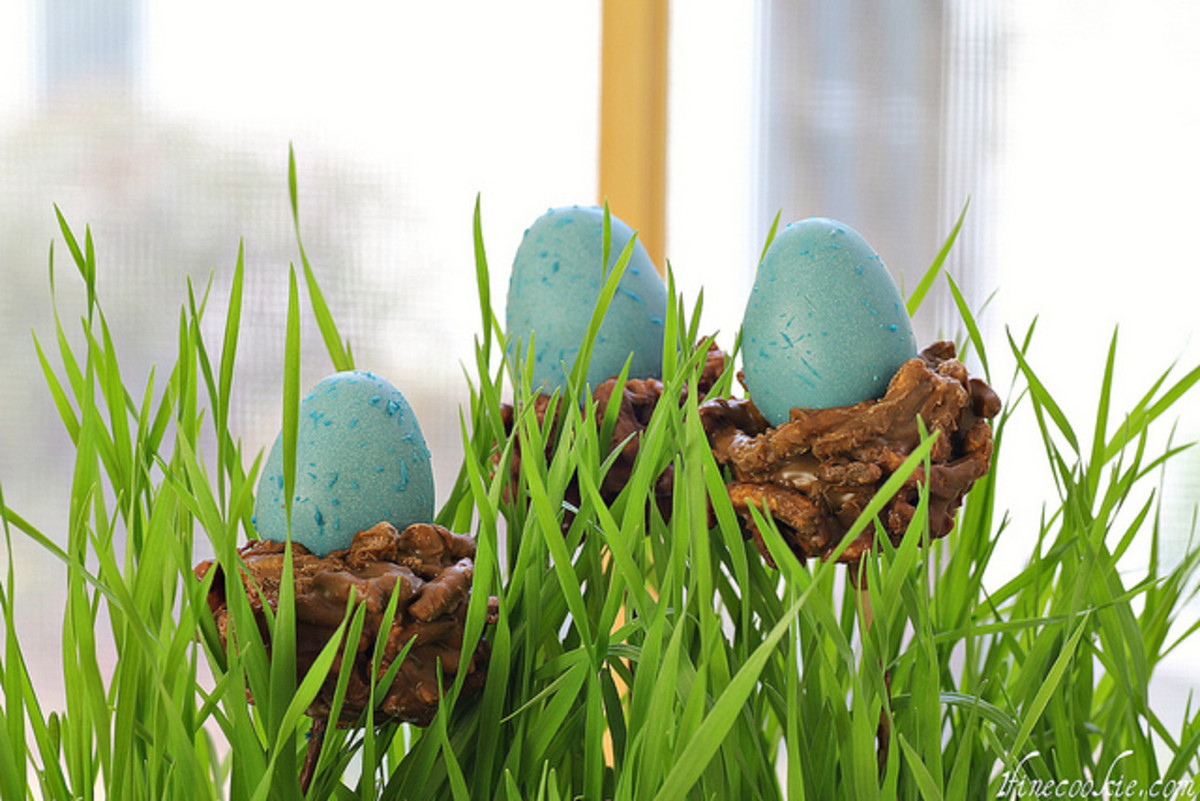 Eggs and baskets are a huge part of the Spring rituals often practiced by Pagans.