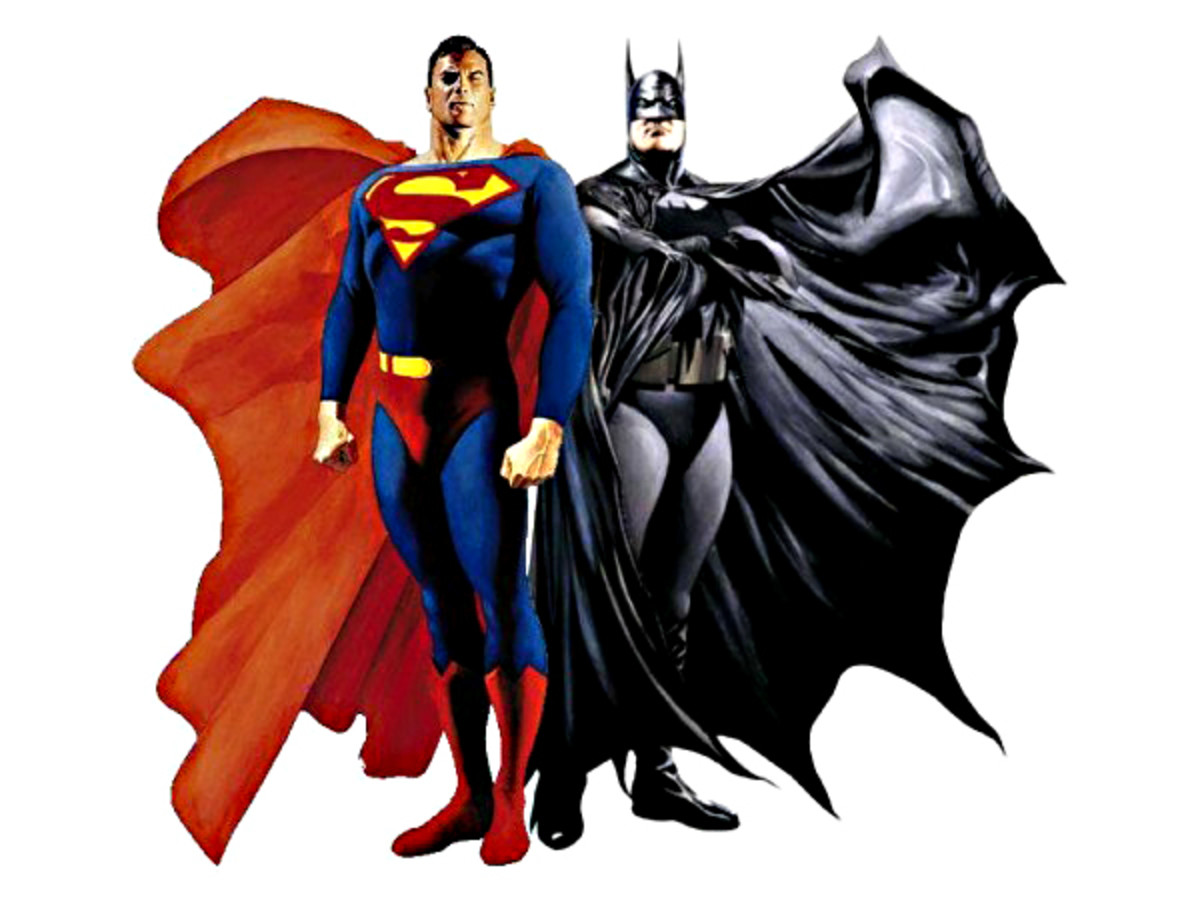Superman and Batman - Men in Tights