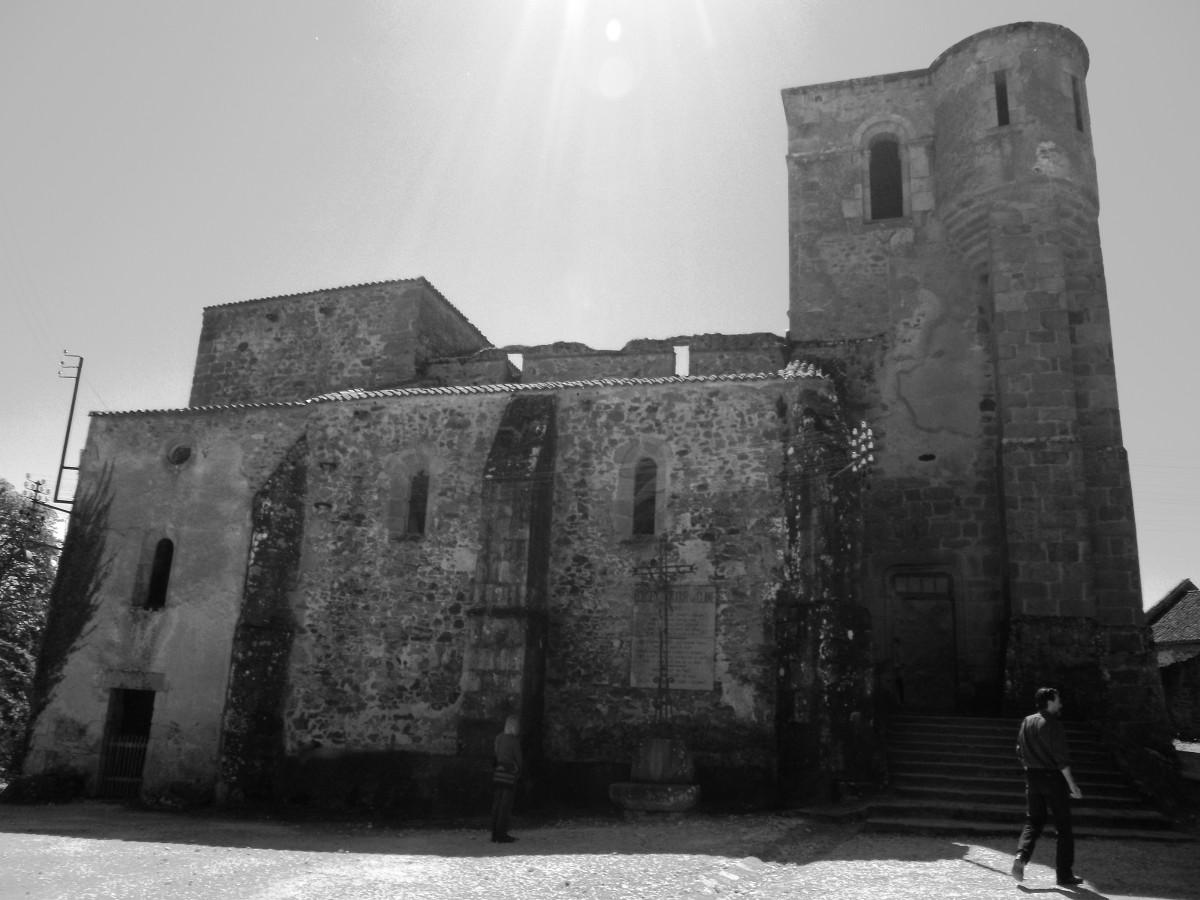 Oradour-sur-Glane church.
