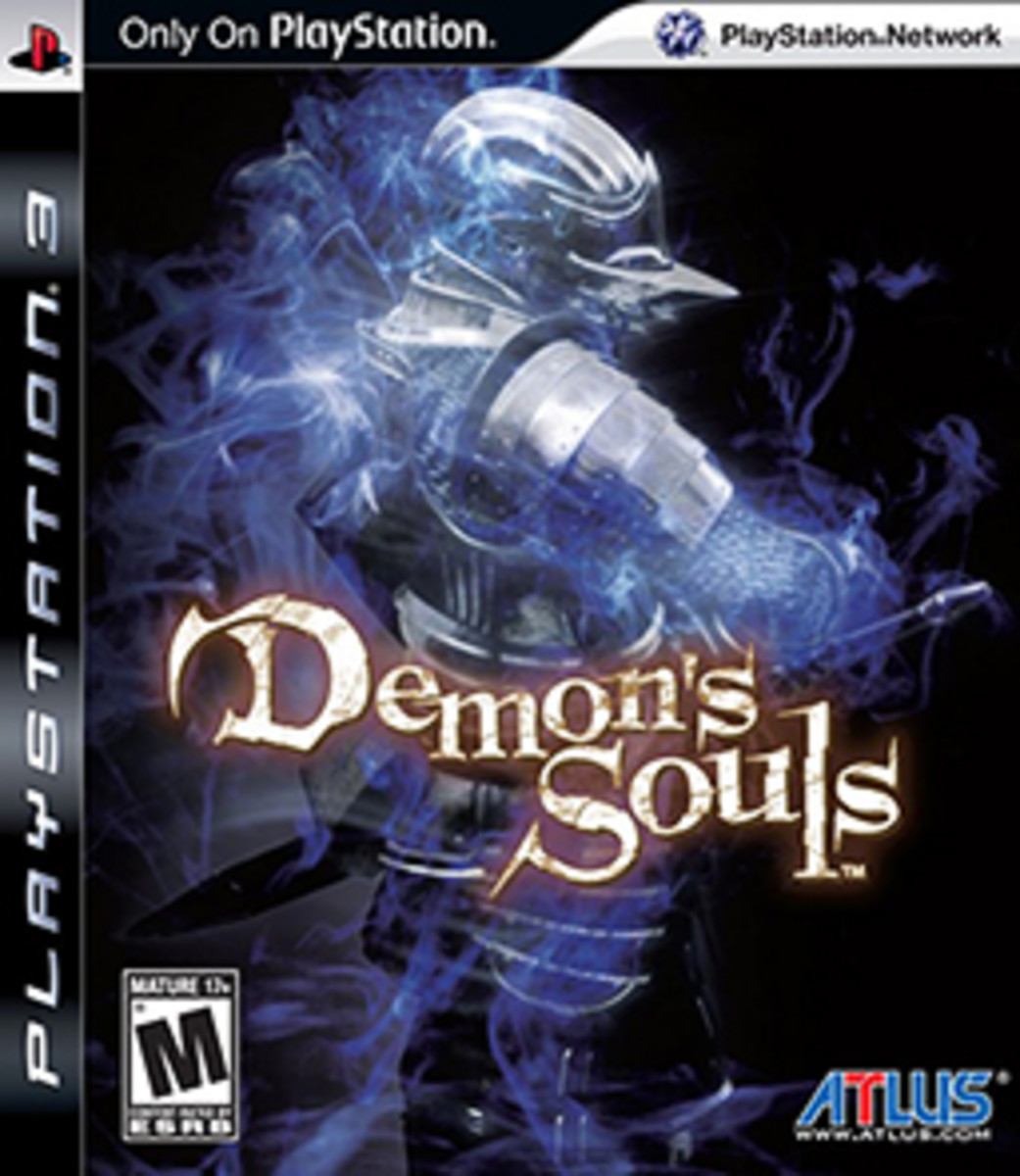 This is the cover art for Demon's Souls. The cover art copyright is believed to belong to From Software and ATLUS.