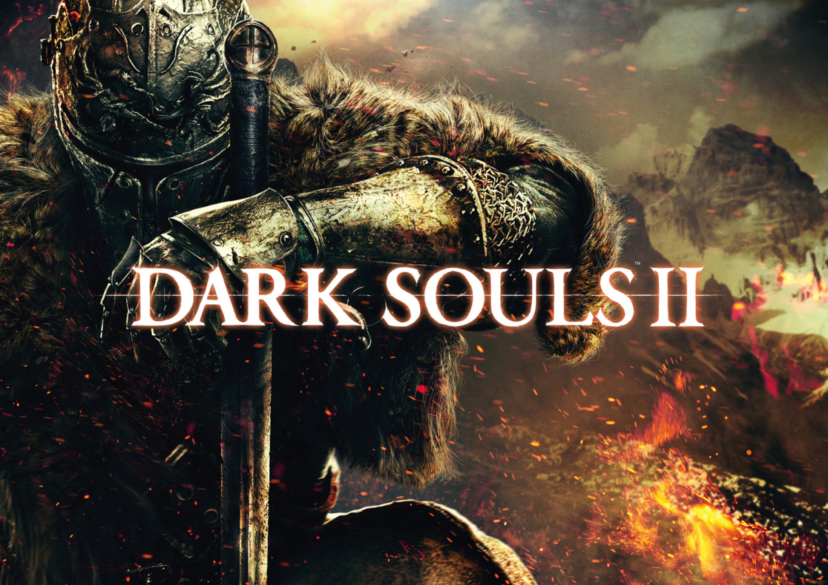 Official art work for Dark Souls 2 showing the Faraam Armor.