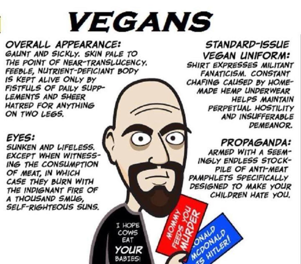 The Disgusting Side Of Veganism