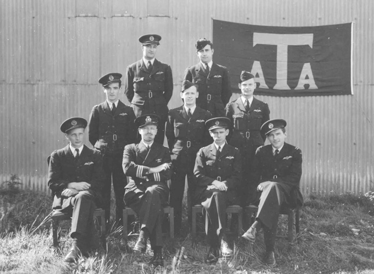 American pilots flying for the British ATA 1941