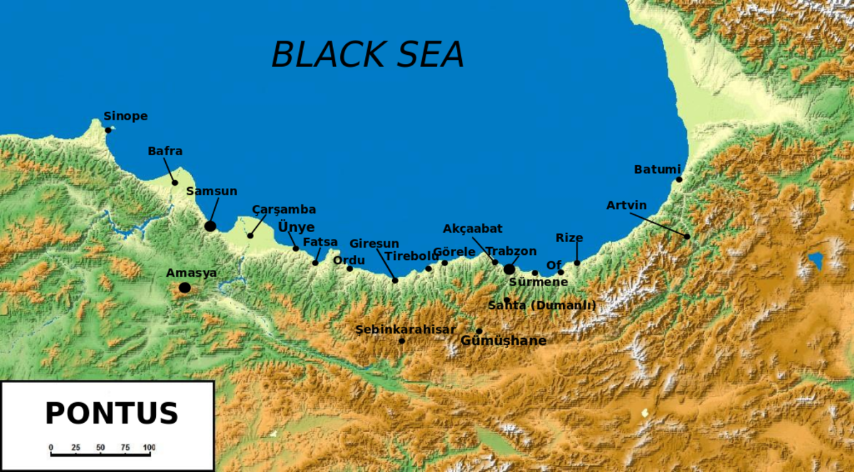 Pontus in Northern Anatolia