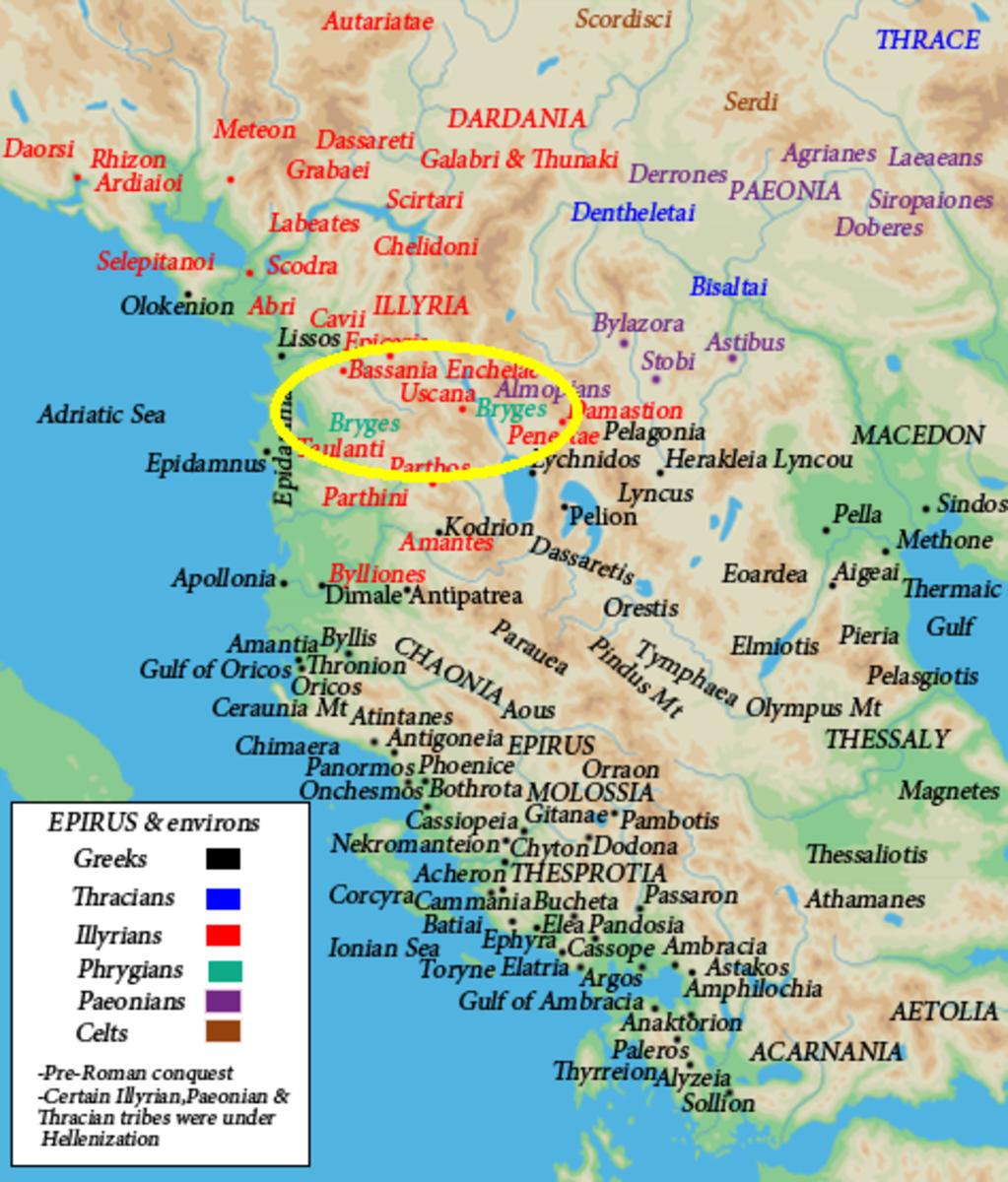 Bryges in Epirus