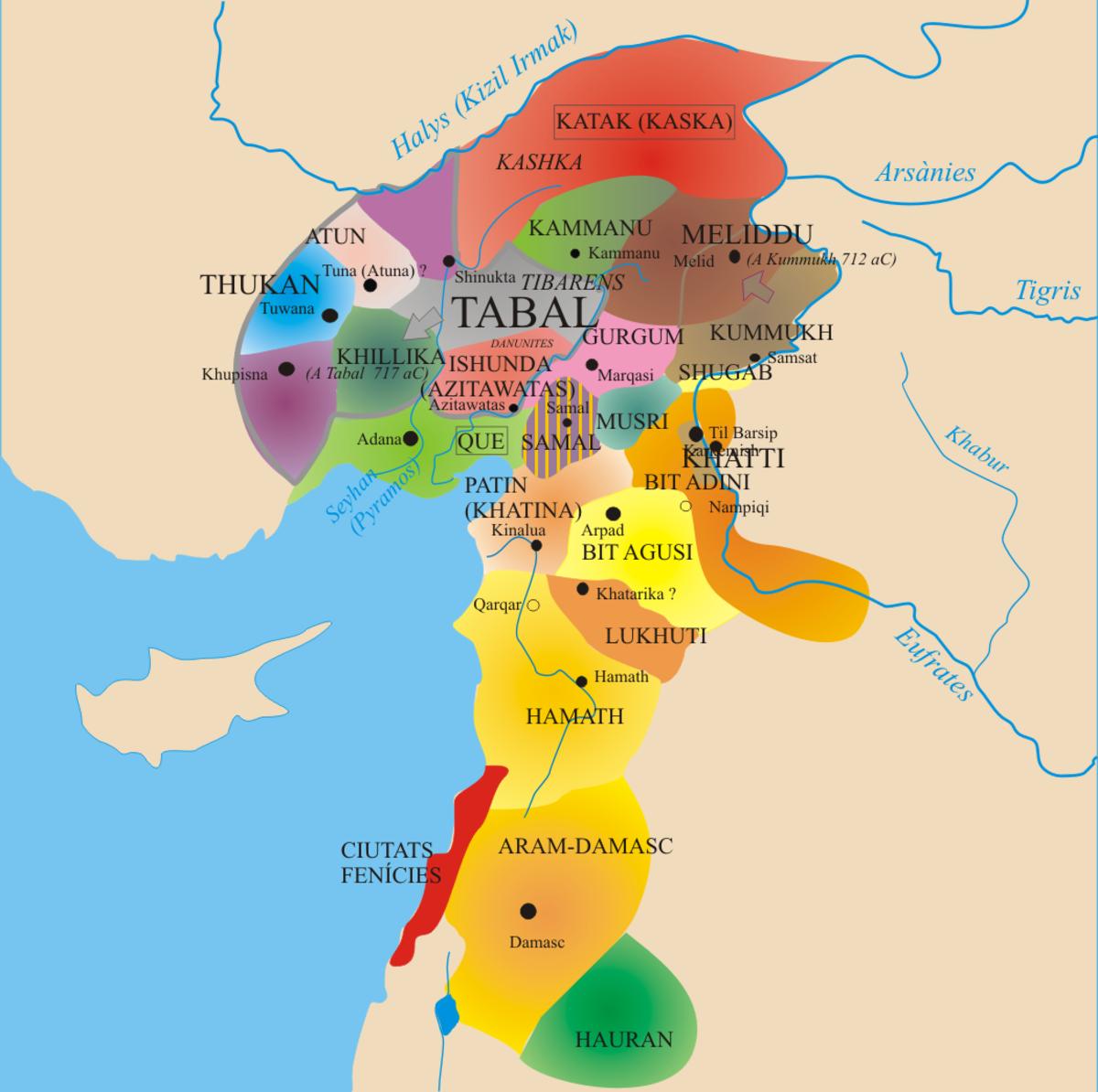 Aramean states