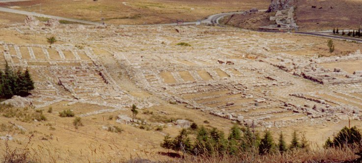 Ruins of the Royal Palace in Hattusa (capital of the Hittite Empire)