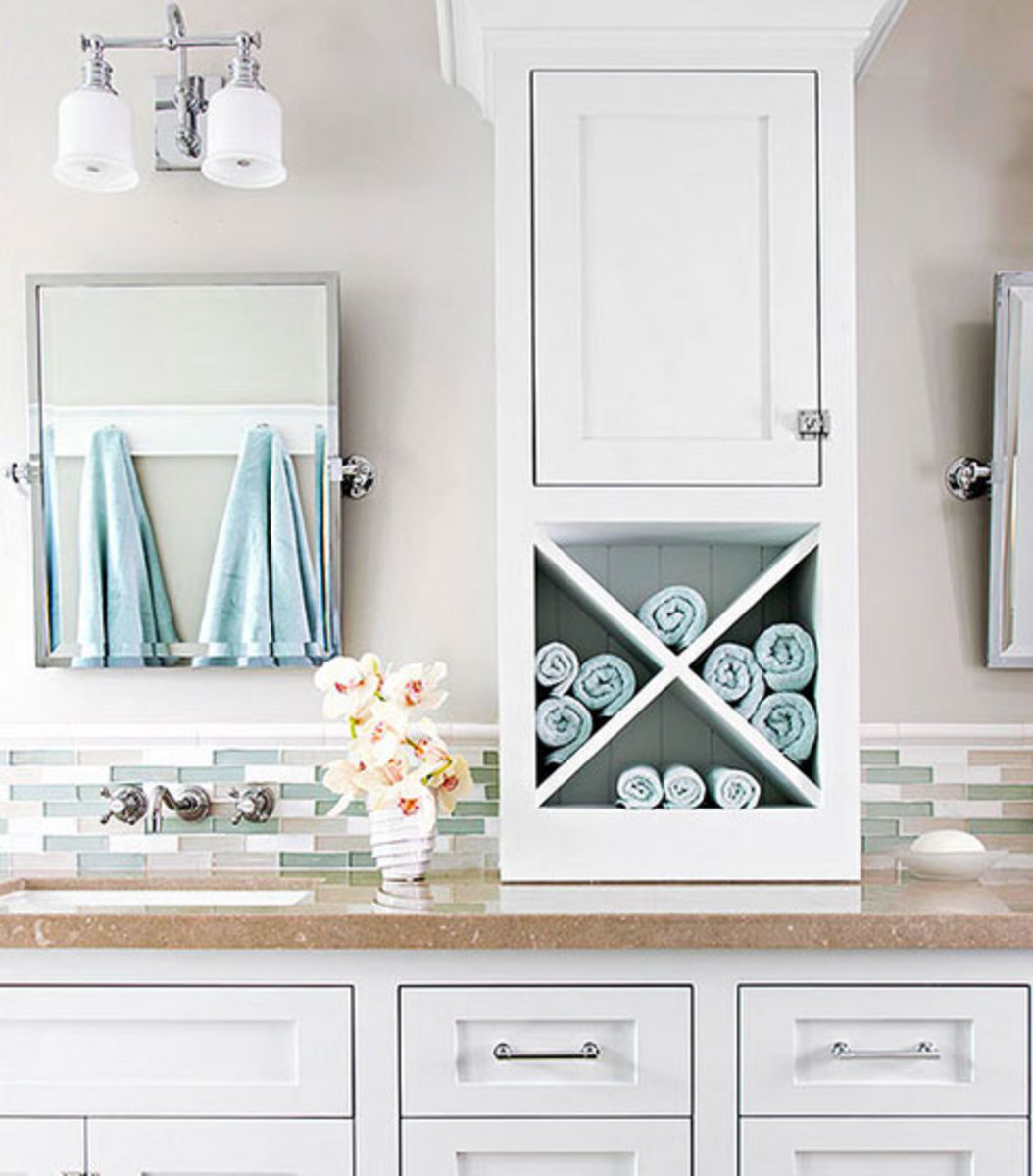 Countertop Solutions | Click Pic for 42 DIY Bathroom Organization Ideas
