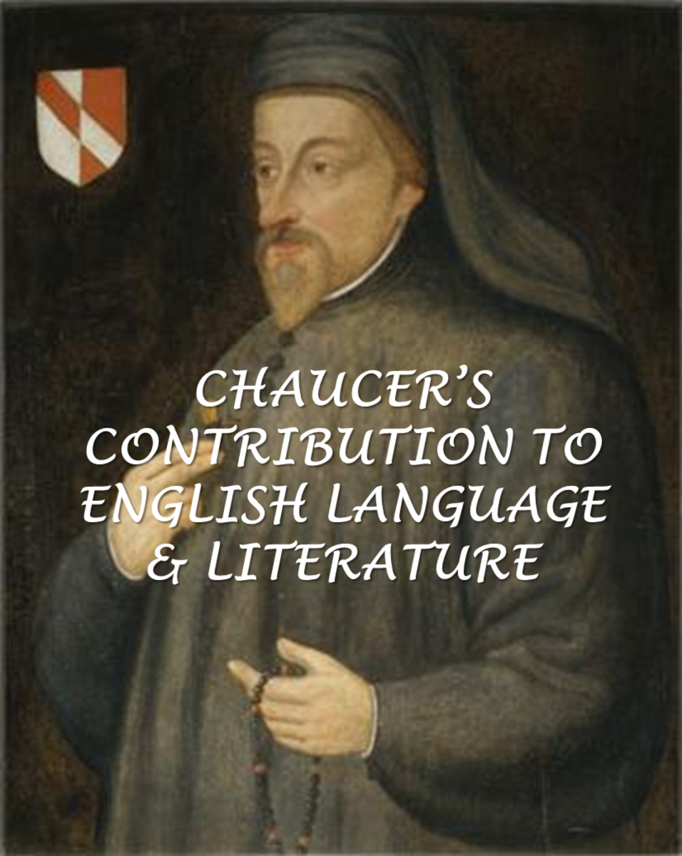 Chaucer's Contribution to English Language & Literature