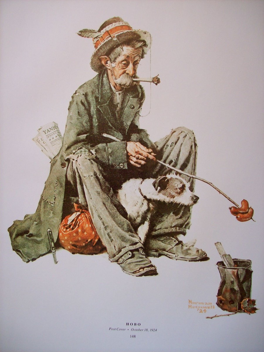 Hobo, by Norman Rockwell