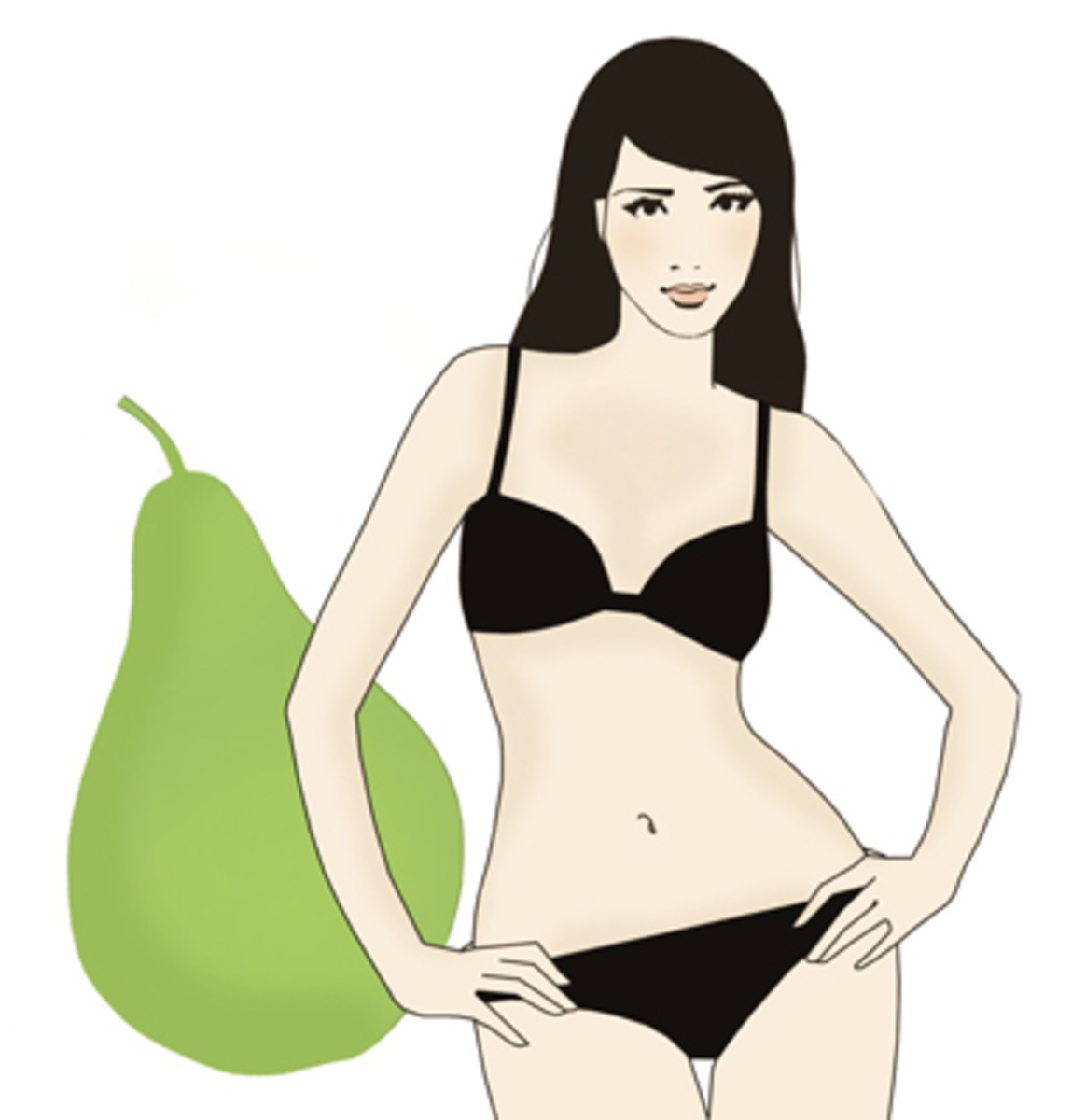 How to Dress up a Pear Body : Dressing Ideas for Triangle Body Shape