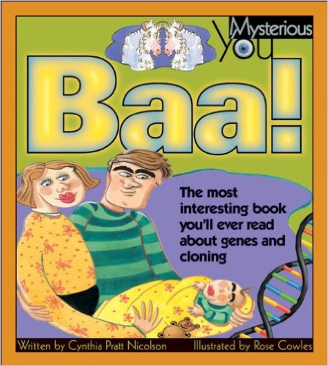 Baa!: The Most Interesting Book You'll Ever Read about Genes and Cloning (Mysterious You) y Cynthia Pratt Nicolson