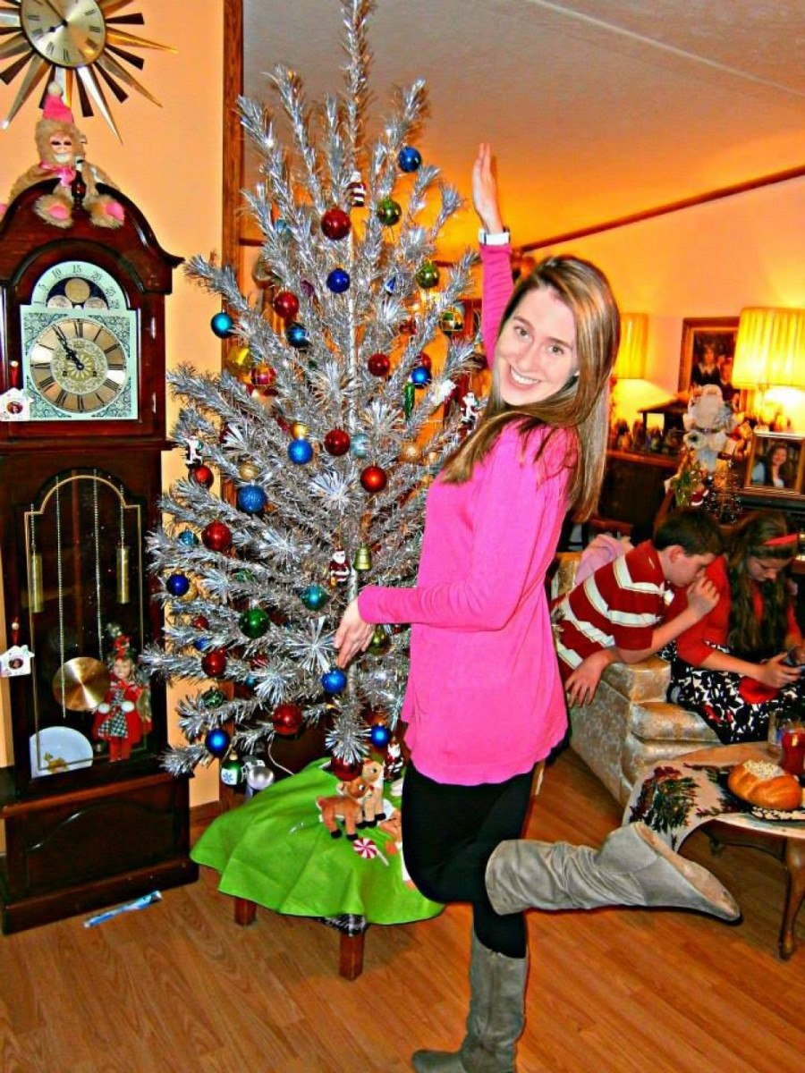 Christmas with an Aluminum Christmas tree is a magical silver Christmas. These amazing shiny spectacles of joy are fun to collect and use year after year during the holidays