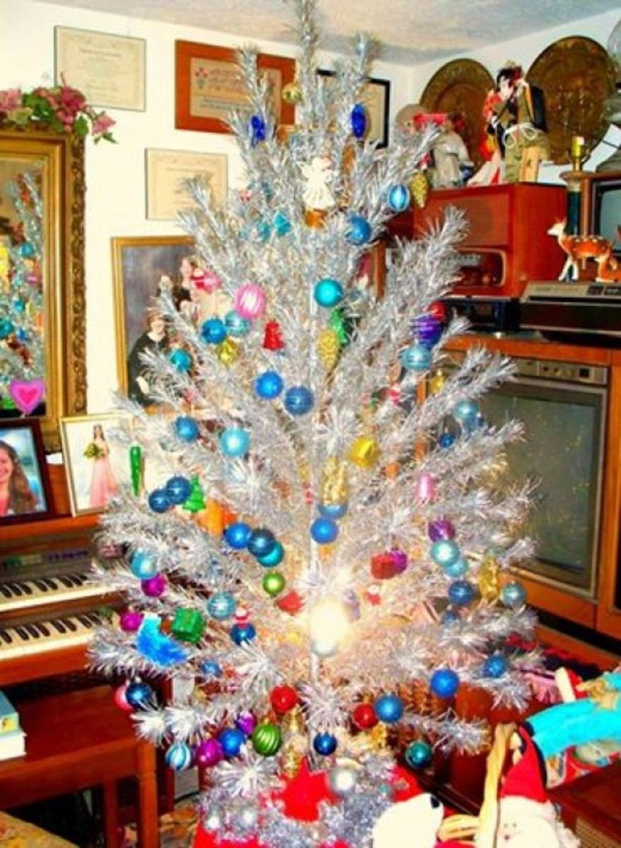 With the right glass balls and decorations on the branches these trees will enhance any room.