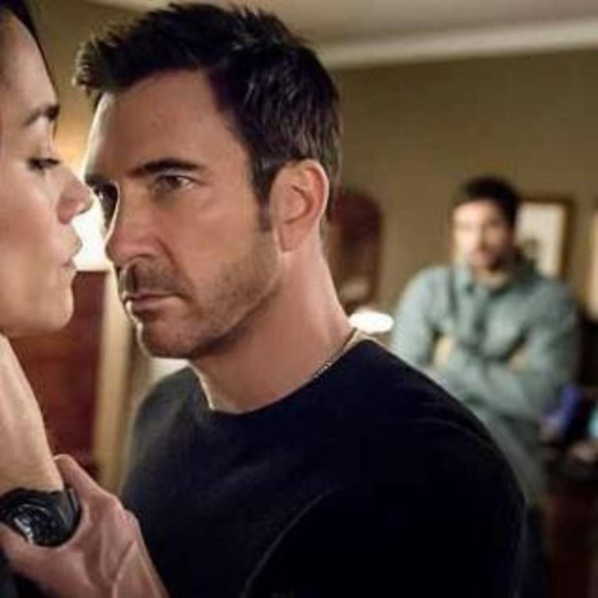Dylan McDermott Crop Haircut