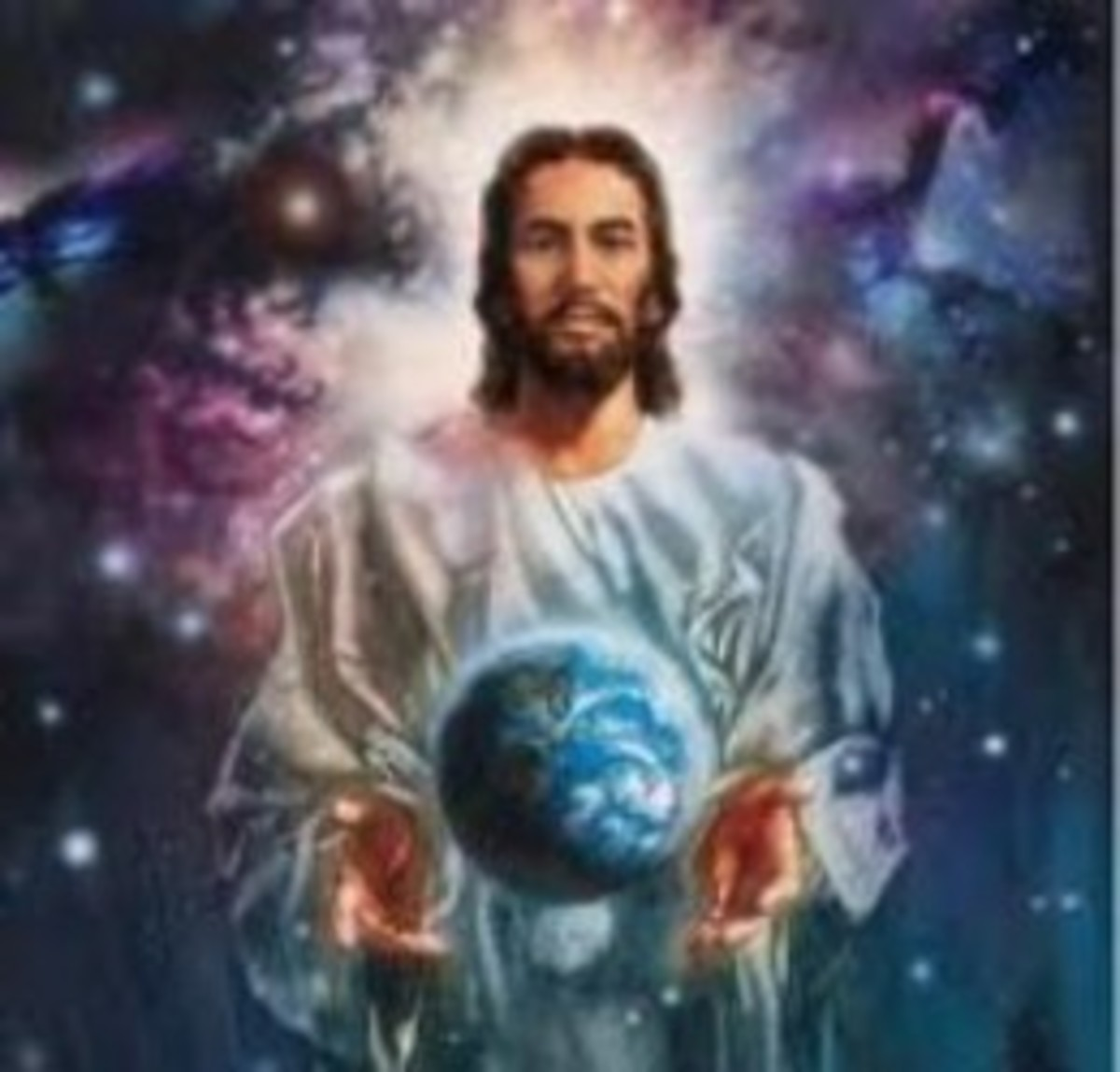Most of the Christian religions believe that Our Lord Jesus Christ is really the son of God, therefore he is also god and spiritually he has got to look after the entire world. Jesus Christ is also the most powerful benevolent spirit of the universe.