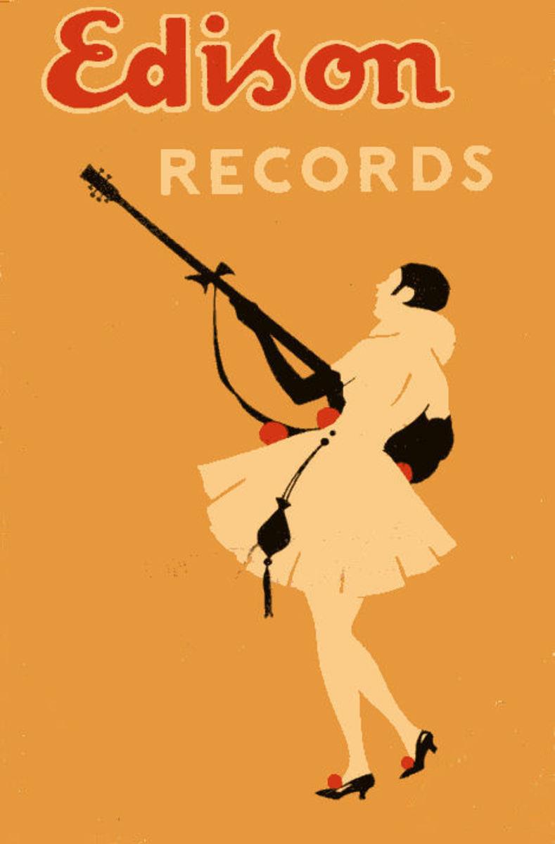 Edison Records Poster