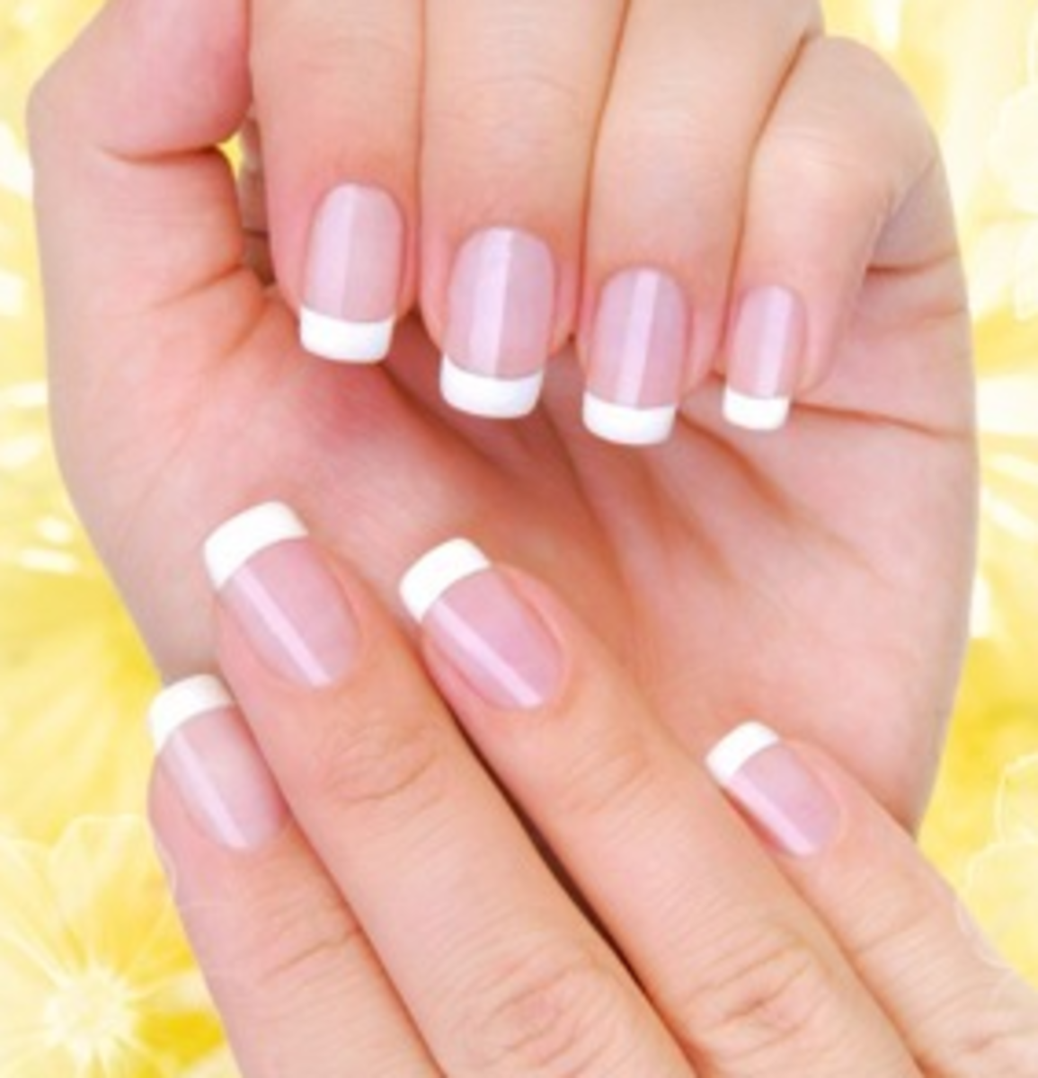 A French Manicure looks really ladylike and professional