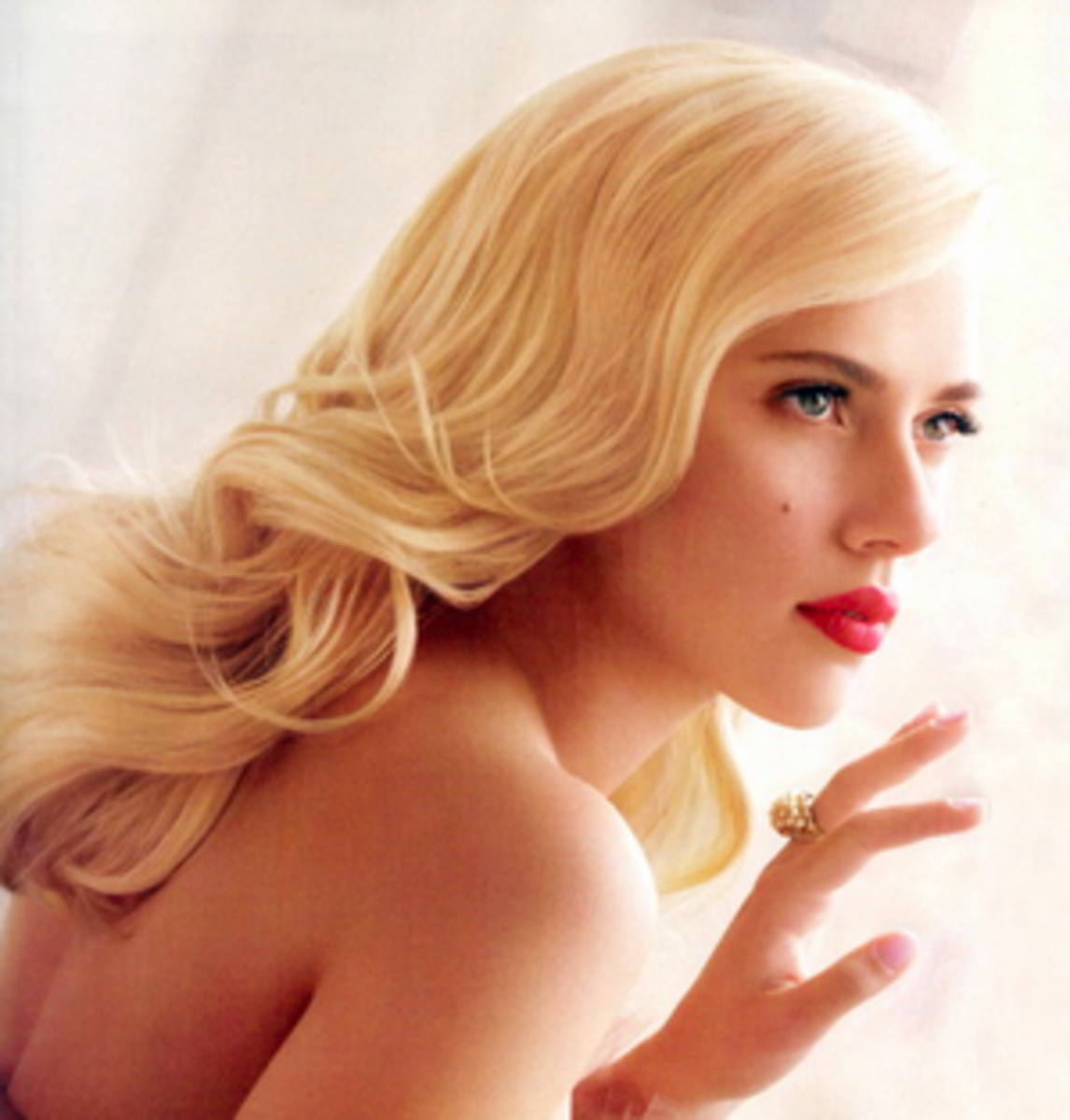 Scarlett Johansson has rocked ginger, red, blonde, brown and she always looks fabulous!