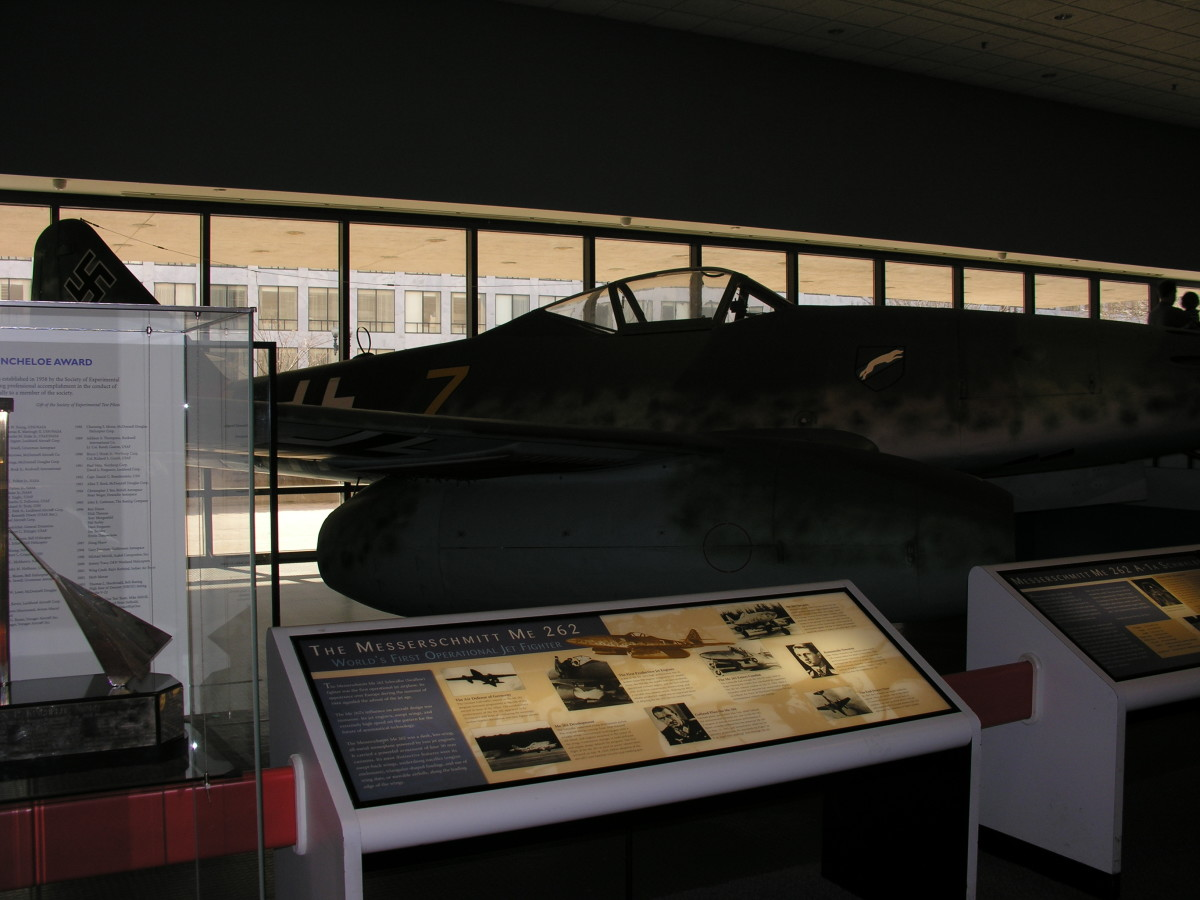 The Me-262 at the National Air & Space Museum - 2011.