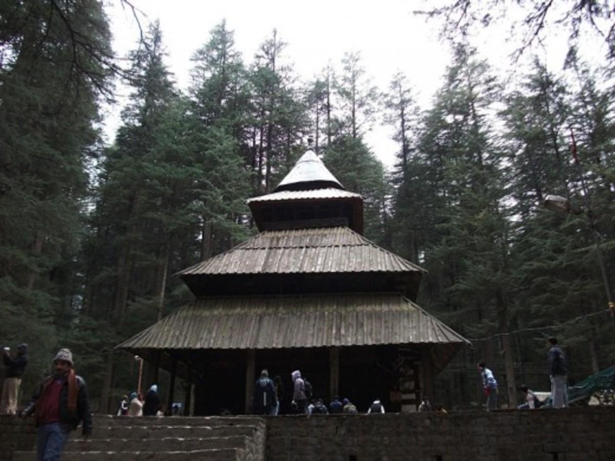 Hidimba Devi Temple at Manāli