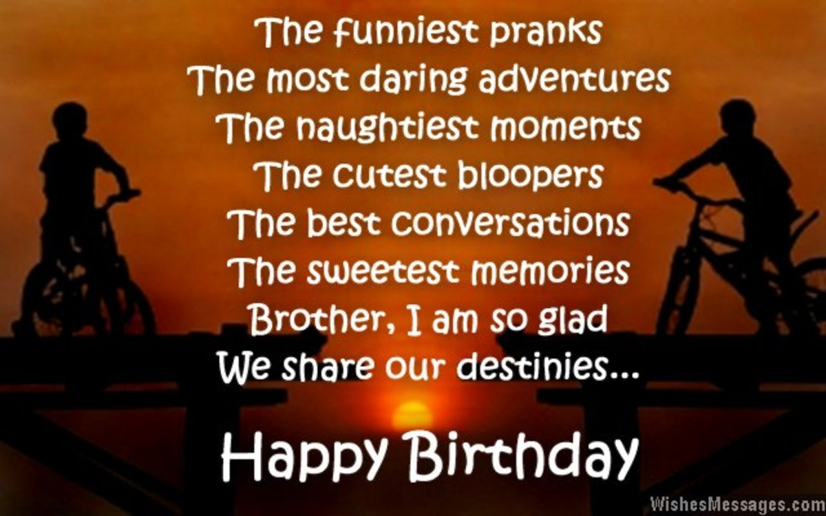 Happy Birthday Wishes To My Brother Quotes: Birthday Wishes, Cards, And Quotes For Your Brother