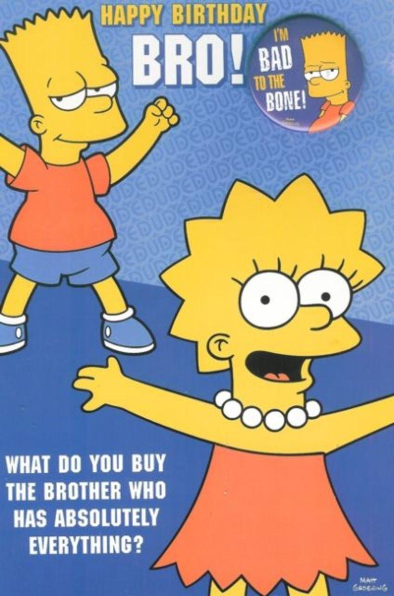 Simpsons birthday wish.