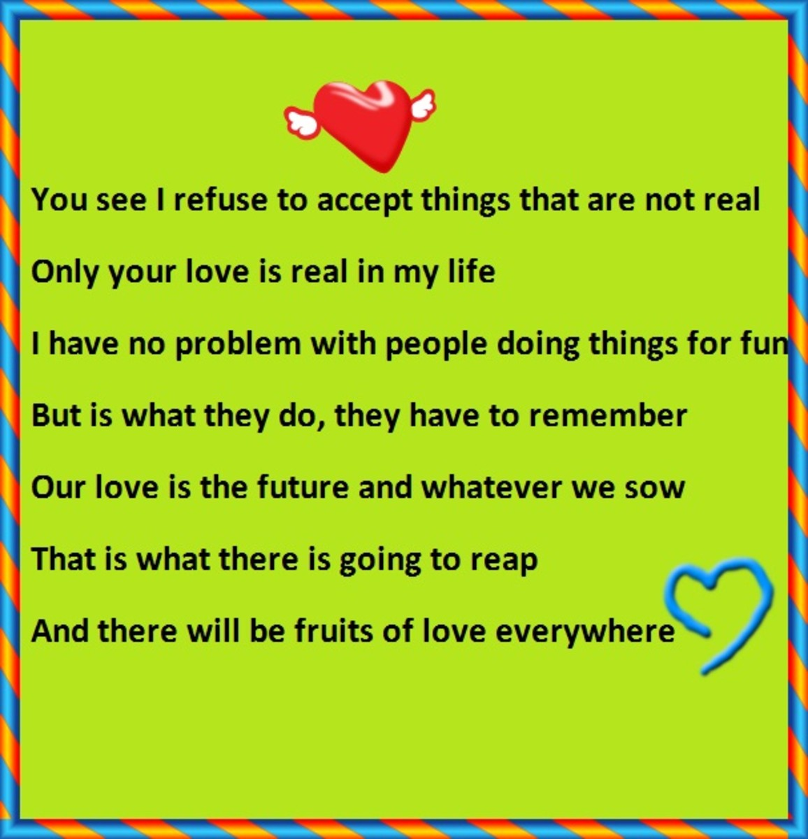 A short I love you poem for boyfriend