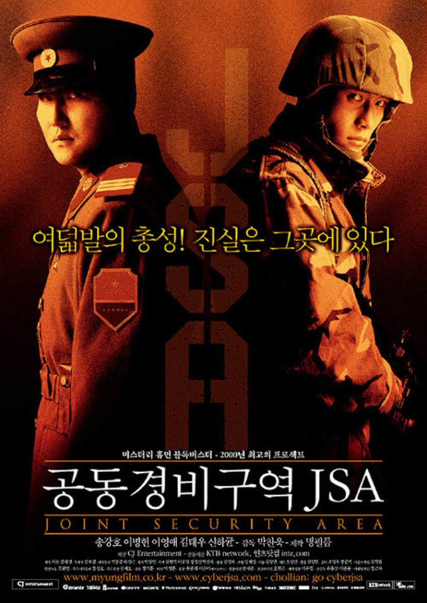 Joint Security Area official movie poster