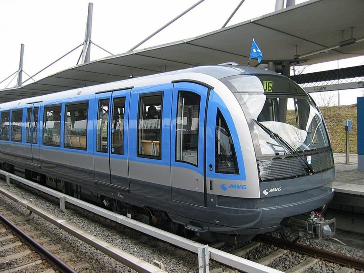 Munich's fantastic U-Bann is great public transportation in Munich and the environs.