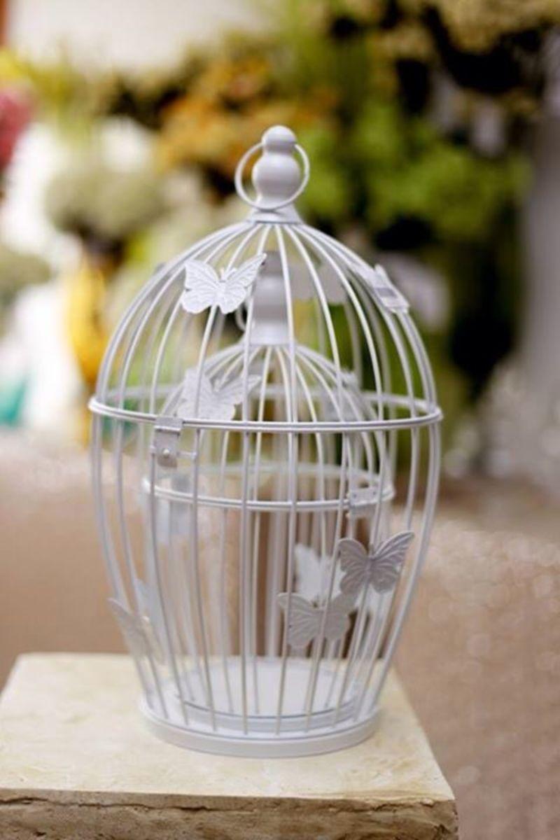 Bird cage center piece décor