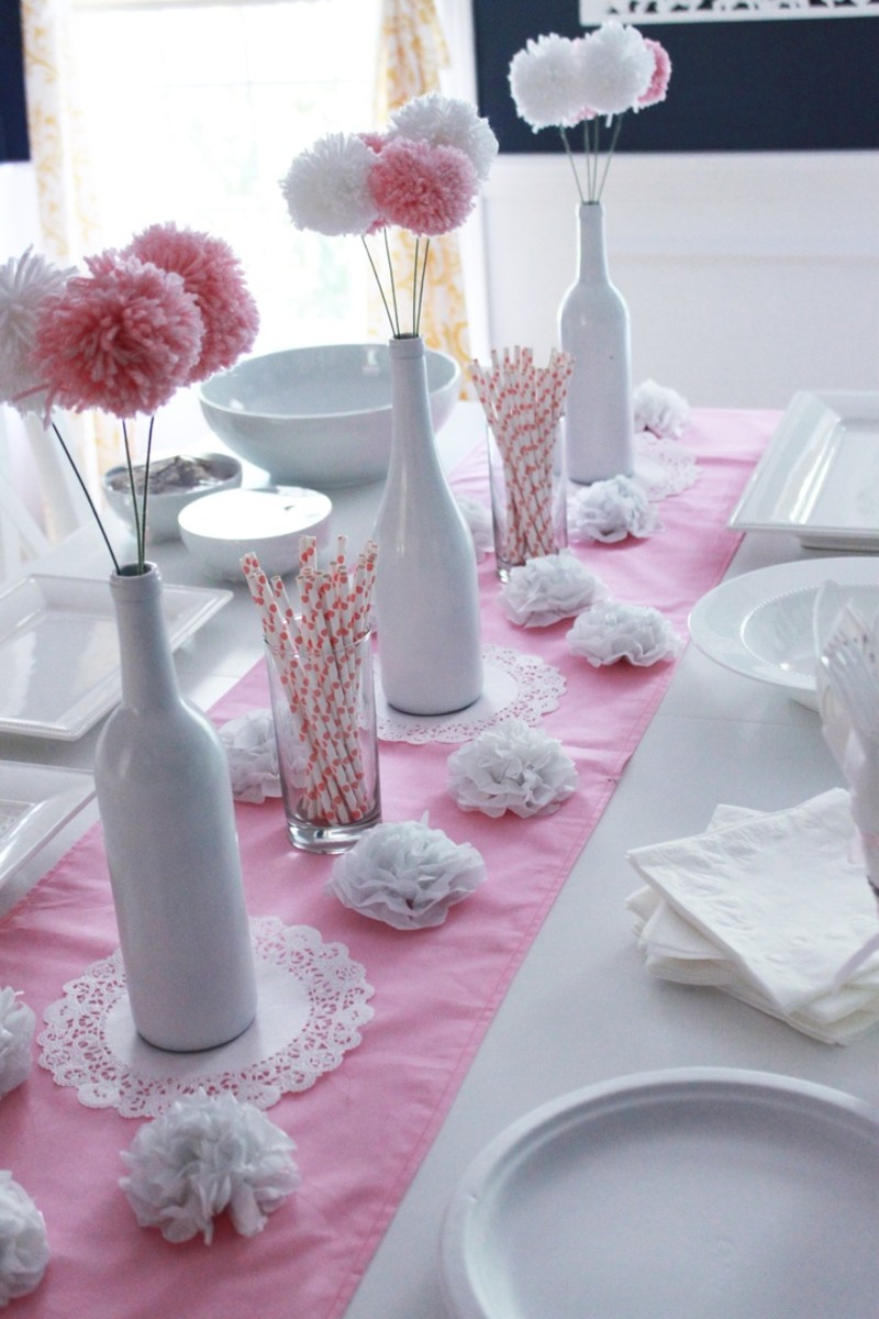 Awe Inspiring Diy Baby Shower Ideas For Girls Hubpages Interior Design Ideas Tzicisoteloinfo