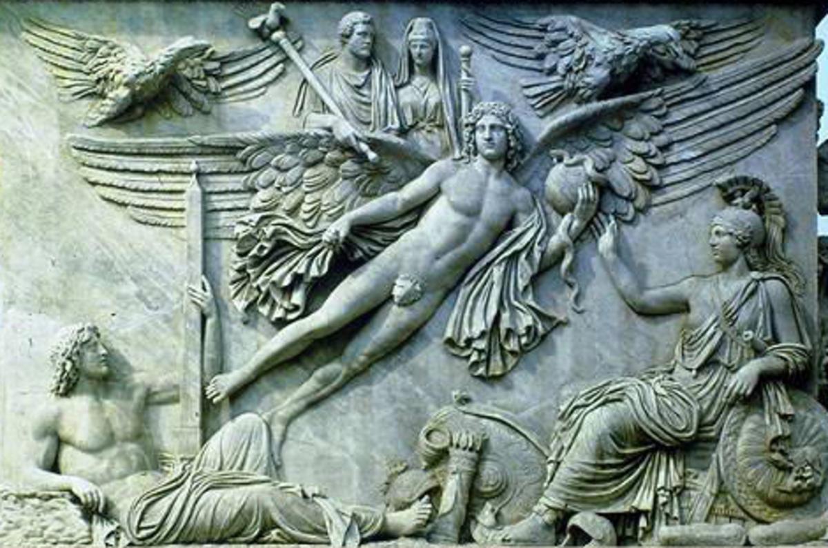 Zeus, Apollo and Athena