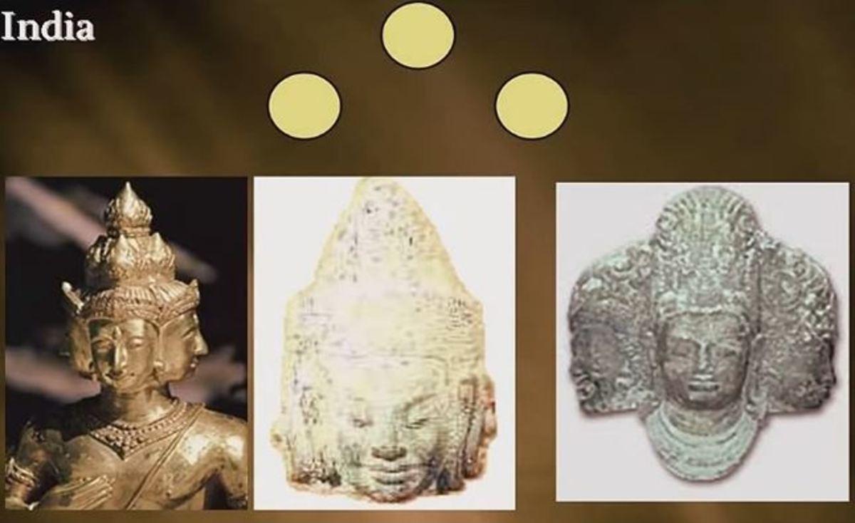 Brama, Vishnu and Shiva