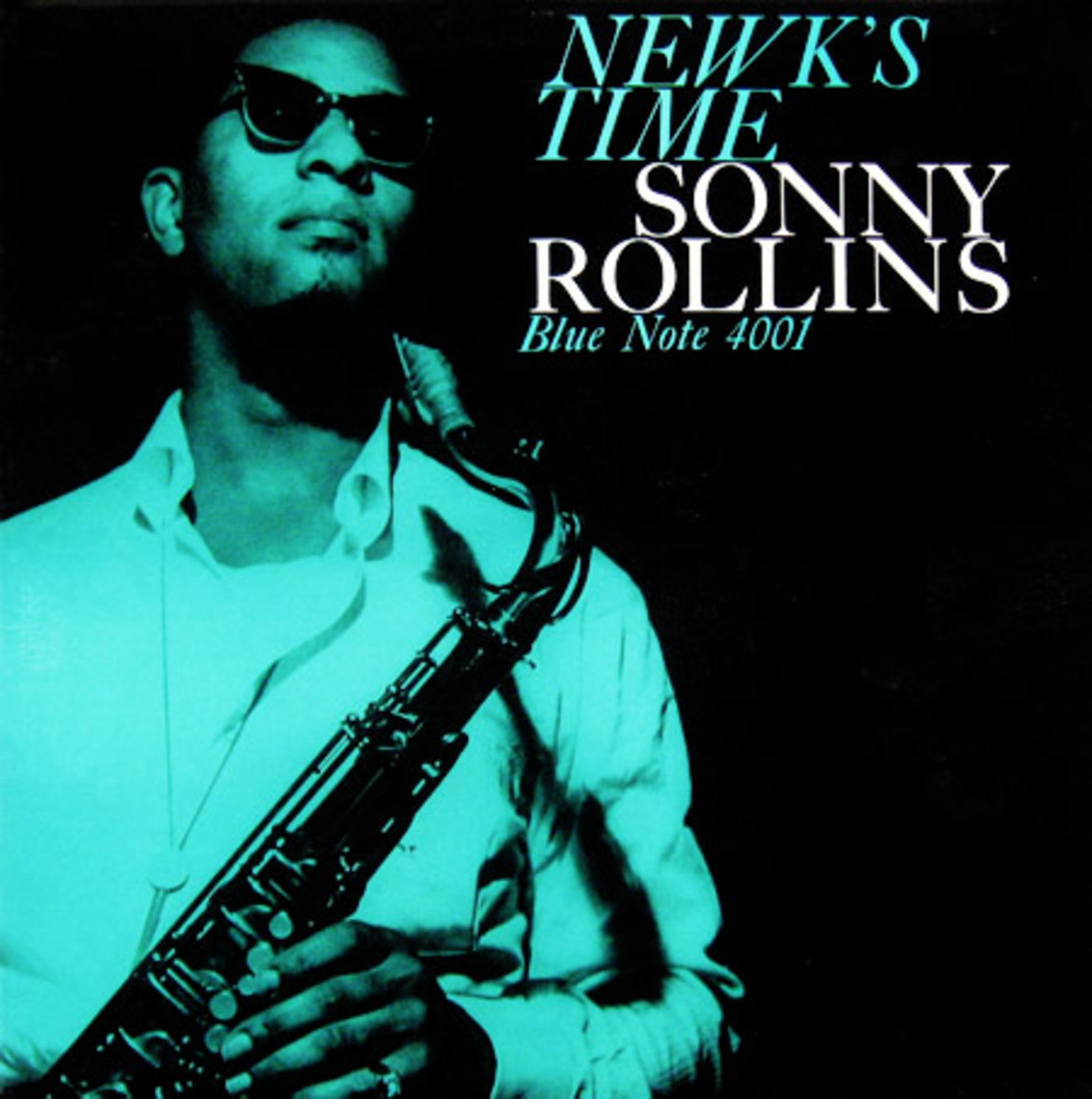 "Sonny Rollins ""Newk´s Time"" Blue Note Records BLP 4001 12"" LP Vinyl Record (1958) Album Cover Photo by Francis Wolff"