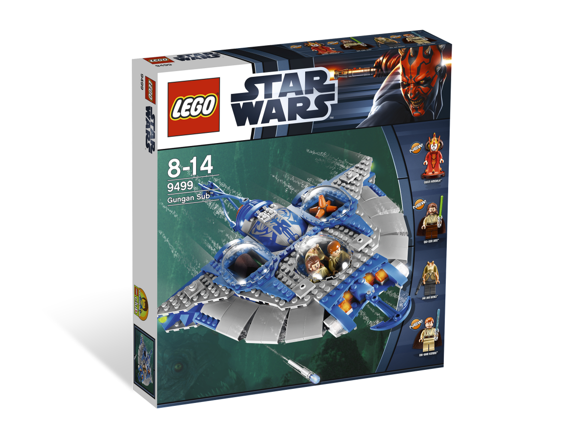 LEGO Star Wars Gungan Sub 9499 Box