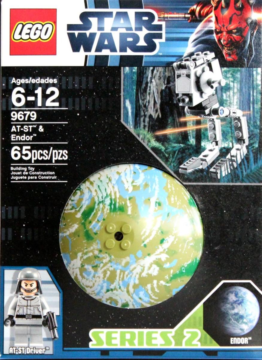 LEGO Star Wars AT-ST & Endor 9679 Box