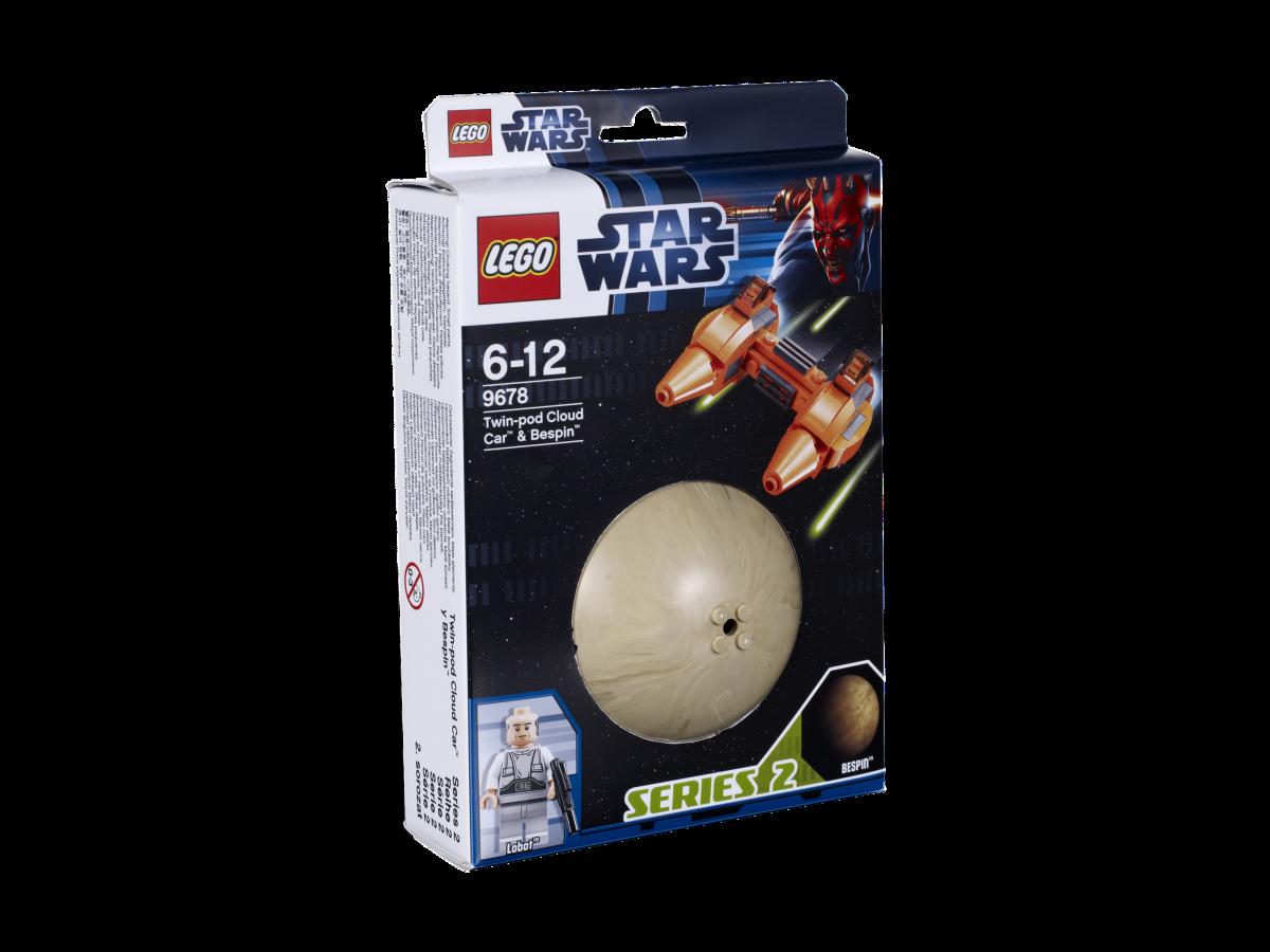 LEGO Star Wars Twin-Pod Cloud Car & Bespin 9678 Box