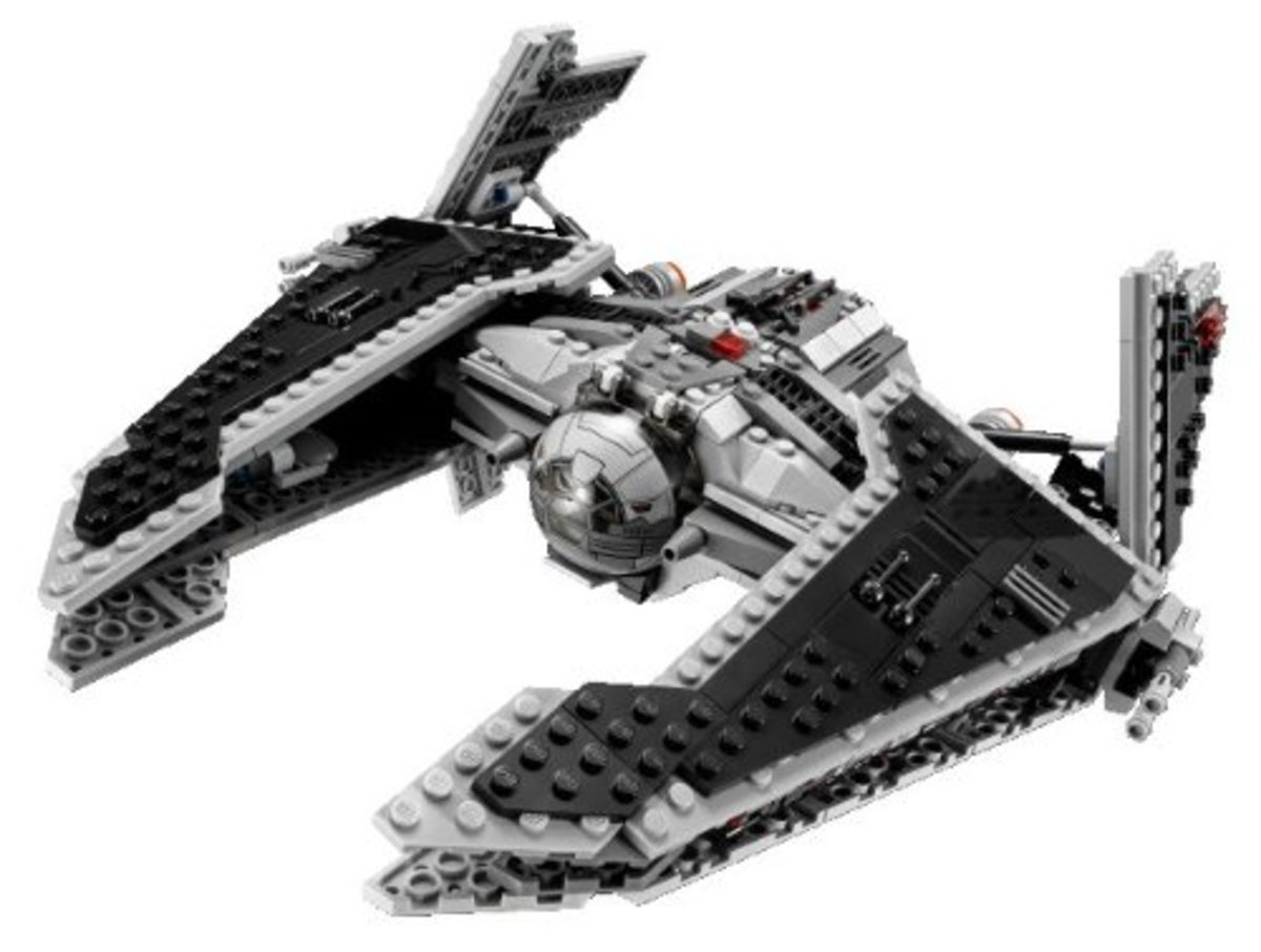 LEGO Star Wars Sith Fury-Class Interceptor 9500 Assembled